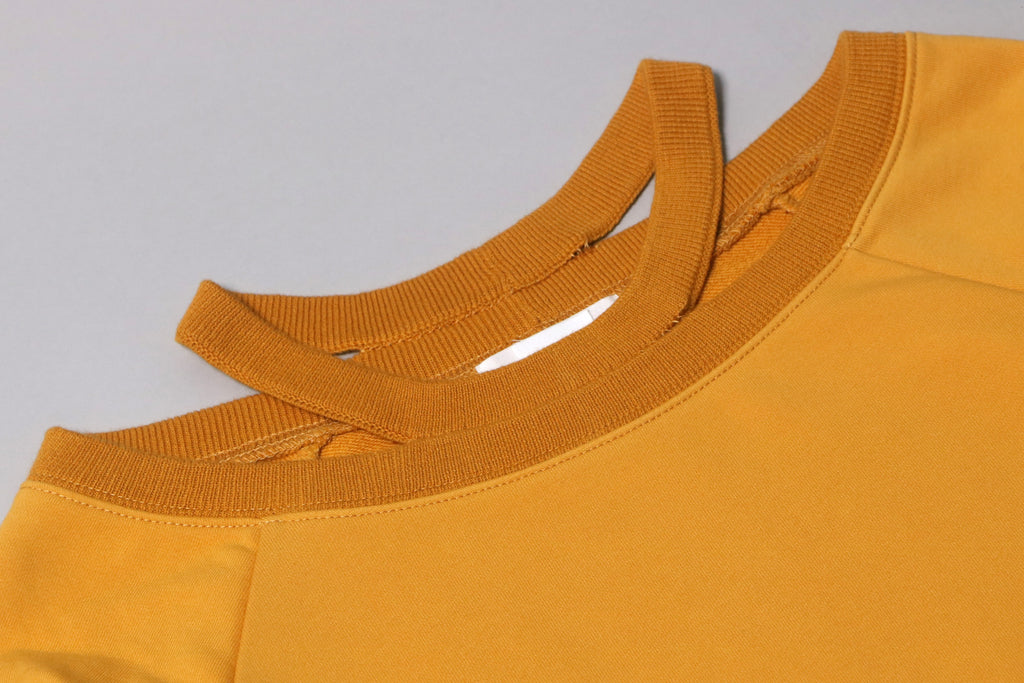 futureclassics odile sweatshirt honey gold