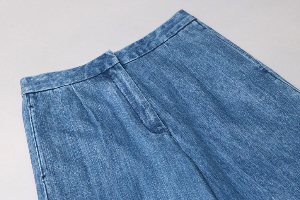 futureclassics sylvie culotte denim