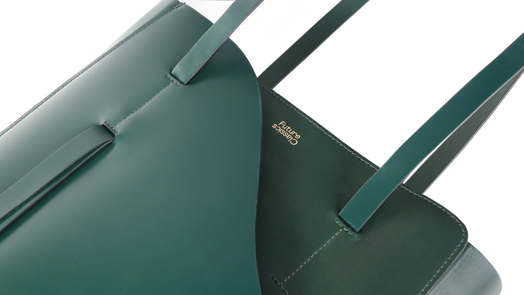 future classics magazine tote forest green