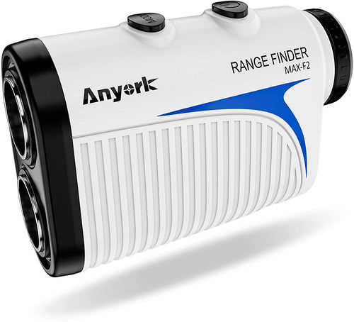 Anyork Rechargeable Golf Laser Rangefinder 1500yards, 6X Magnification, Slope On/Off,Flag-Lock Tech with Vibration, Continuous Scan Support,Tournament Legal Rangefinder for Golfers