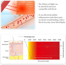 Load image into Gallery viewer, Body Red Light Therapy Devices in Deep Red (660nm) for Face Body Skin