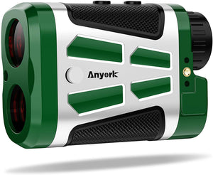 Anyork Golf Rangefinder, Laser Range Finder,Flock-Lock with Vibration and Slope Switch On/Off, Continuous Scan, Tournament Legal Rangefinder for Professional Golfers