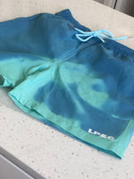 React Shorts - Aqua / Blue