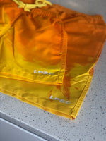 React Shorts - Orange/ Yellow