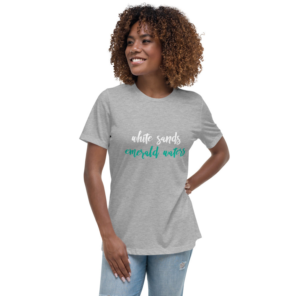 White Sands // Emerald Waters Relaxed T-Shirt