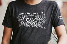 Load image into Gallery viewer, Kids Charcoal Crab T-shirt