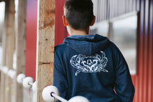 Load image into Gallery viewer, Kids Navy Crab Zip-Up