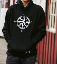 Load image into Gallery viewer, Men Black Compass Pullover