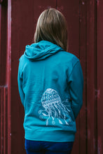 Load image into Gallery viewer, Women Teal Jellyfish Pullover