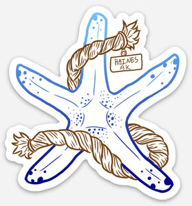 Starfish Sticker
