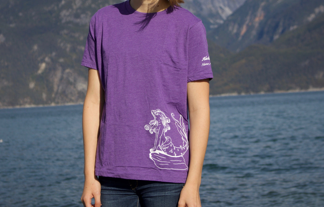 Kids Purple Mermaid T-shirt