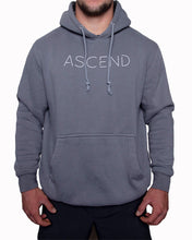 Load image into Gallery viewer, Original Ascend-Gray/White Hoodie