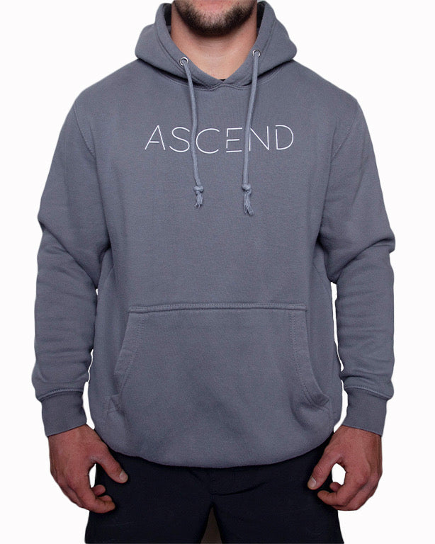 Original Ascend-Gray/White Hoodie