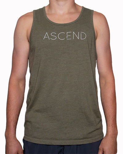 Original Ascend-Military Green Men's Tank