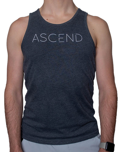 Original Ascend-Charcoal Men's Tank
