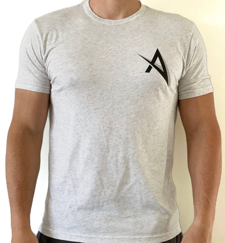Ascend Tee-Heather Gray