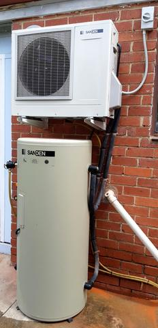 Sanden Heat Pump Hot Water Unit - 160L