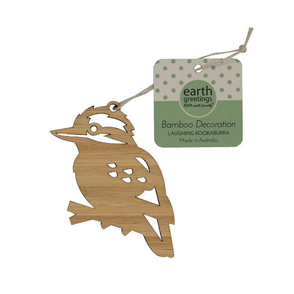 Earth Greetings Bamboo Decoration