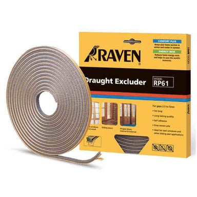 Raven Draught Excluder