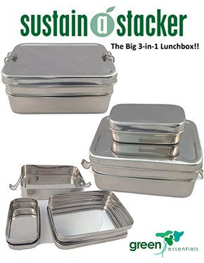 Sustain-a-Stacker Trio Lunchbox