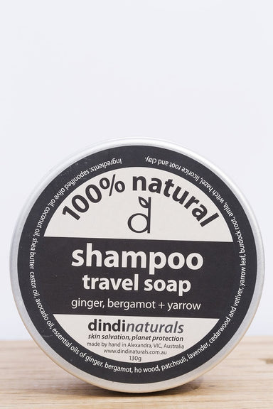 Dindi Travel Shampoo/ Soap Tin