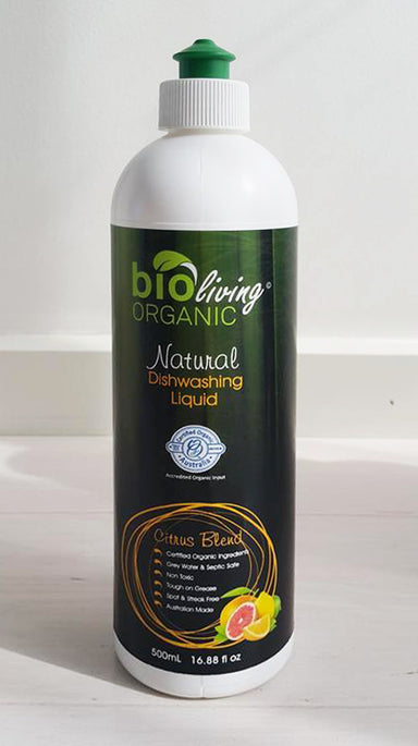 Bio Living Organic Dishwashing Liquid CC 500ml
