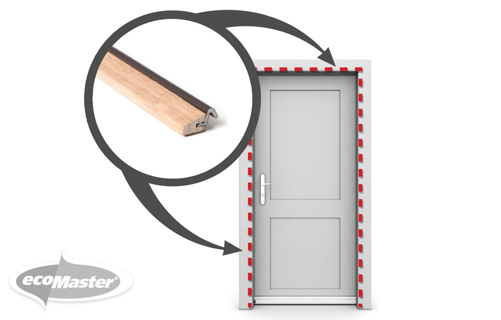 ecoMaster Draught Dodger for Doors