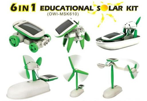 OWI - 6 in 1 Educational Solar Kit