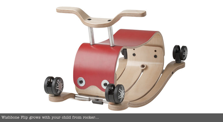 Wishbone Rocker - Red