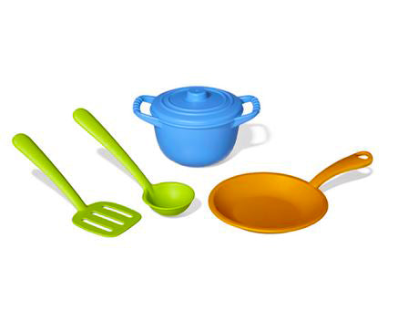 Green Toy Chef Set