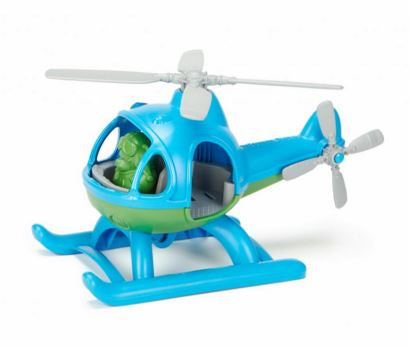 Green Toys Helicopter- Blue
