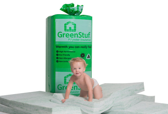 Autex Greenstuf Insulation Batts - Safe to touch