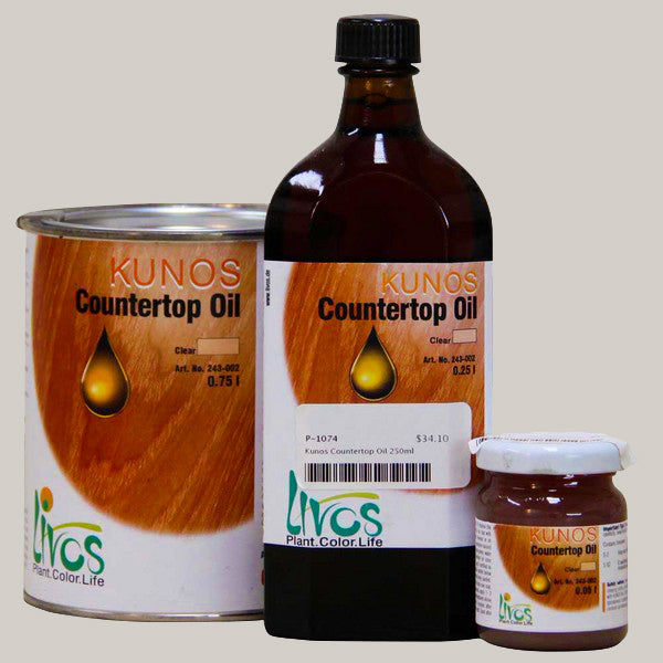 Livos Kunos Natural Oil Sealer - different sizes