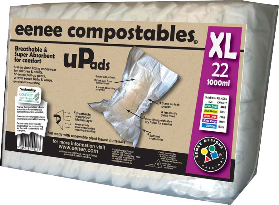 Eenee Compostable Nappies