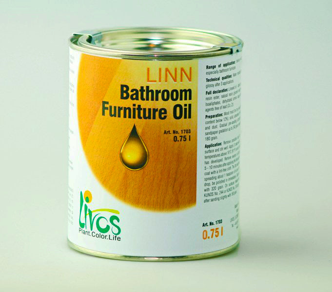 Livos Linn Bathroom Furniture Oil