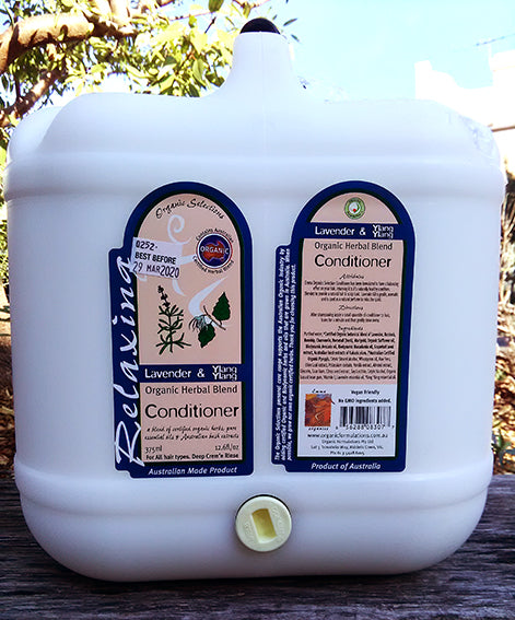 Organic Selections Lavender Conditioner 15L