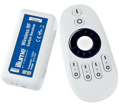 Illume Wireless RF Remote Dimmer