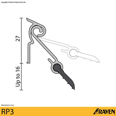 Raven Automatic Weather Seal RP3