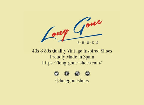 Long Gone Shoes 1950s Finest Vintage Inspired Shoes Contact and Follow us