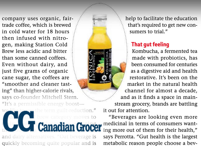 Drinking it in - Canadian Grocer