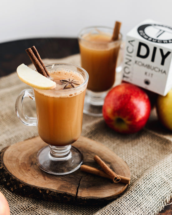Boozy Apple Pie Spiced Cider