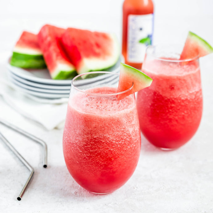 Tonica Kombucha Blueberry Watermelon frosé!