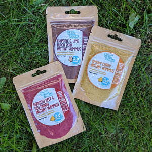 INSTANT HUMMUS LIL TRIO - All 3 Flavours of Instant Hummus (SAVE 20%) - localpulse