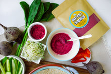 Load image into Gallery viewer, Instant Hummus | Roasted Beet & Red Onion - localpulse