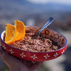 Cocoa & Buckwheat GooPea Plant-Protein Muesli (previously Chunky Chocolate) - localpulse