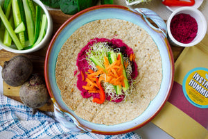 Instant Hummus | Roasted Beet & Red Onion - Local Pulse