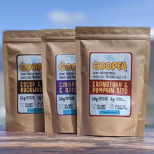 Load image into Gallery viewer, GOOPEA BIG TRIO - All 3 Flavours of Plant-Protein Muesli (SAVE 10%) - localpulse