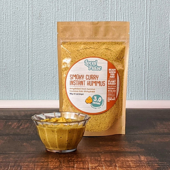 Instant Hummus | Smoky Curry - Local Pulse