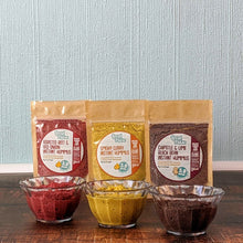 Load image into Gallery viewer, INSTANT HUMMUS LITTLE TRIO - All 3 Flavours of Instant Hummus (SAVE 20%) - localpulse