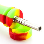 10mm Titanium Tip Silicone Nectar Collector For Sale  Free Shipping